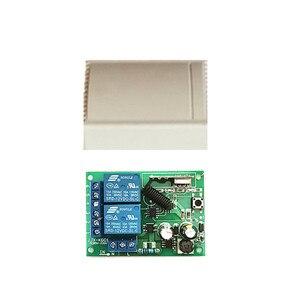 Image 5 - ไร้สาย 433MHz 2 ช่องAC 110V 220Vรีเลย์ตัวรับสัญญาณและ 1527 รหัสการเรียนรู้เครื่องส่งสัญญาณRFรีโมทคอนโทรลสำหรับโรงรถDO