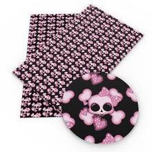 20*34 см Хэллоуин искусственная Синтетическая кожа лист пэчворк для волос лук сумки чехол телефона DIY проекты, 1Yc7633