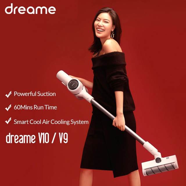 Dreame V9/ V9P/ V10 Handheld Wireless Vacuum Cleaner Cordless Cyclone Filter Carpet Dust Collector Carpet Sweep Mite Cleaner