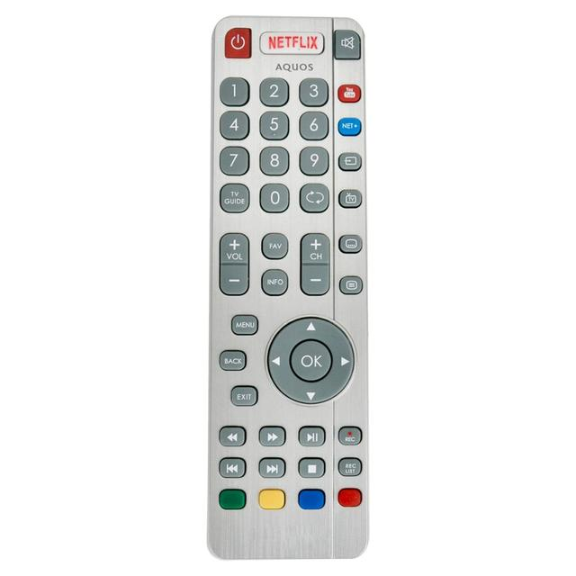 New SHWRMC0116 Remote Control fit for Sharp Aquos RF Smart TV SHWRMC0116 LC 32CHG6352E LC 43CUG8462KS LC 49CUG8461KS