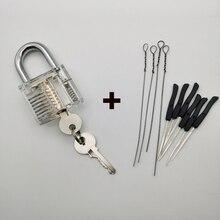 Practice-Lock Lock-Kit Locksmith-Tool-Key Broken-Key-Extractor-Set with Removing-Removal-Hooks