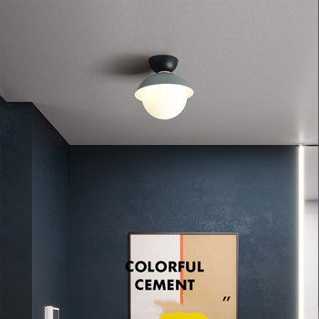 Aisle ceiling light Nordic corridor lights porch lights surface mounted light simple modern personality creative ceiling  lamp