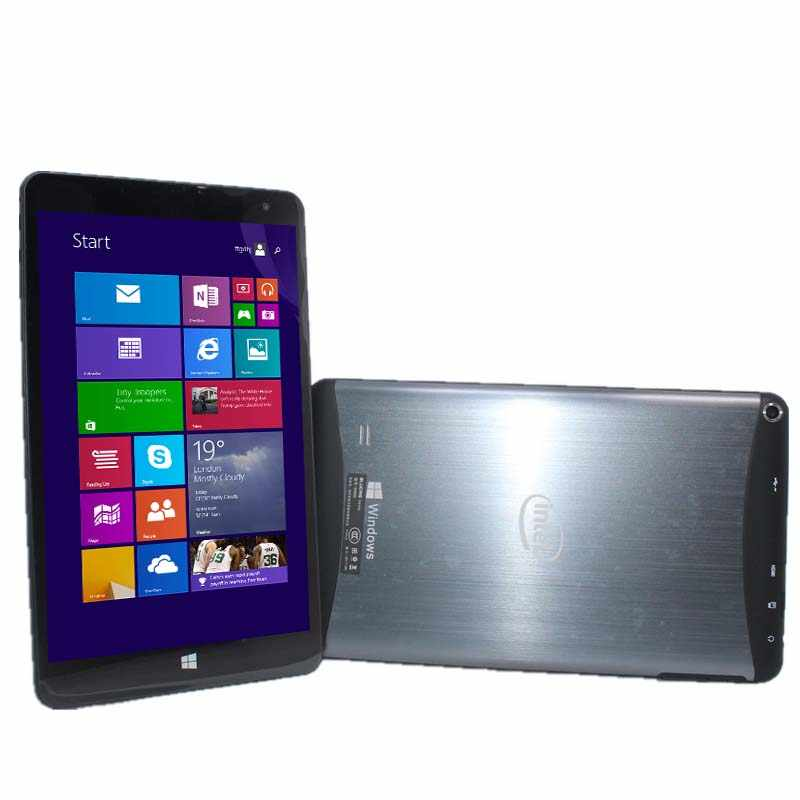 W800 windows tablet pc 8 polegada 1280x800 ips janela 8.1/windows 10 1gb + 16gb z3735g quad core wifi hdmi bluetooth câmeras duplas