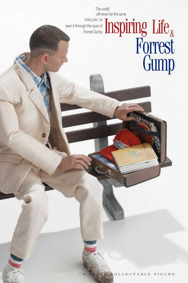 1//6 Scale Action Figure Stand Forrest Gump