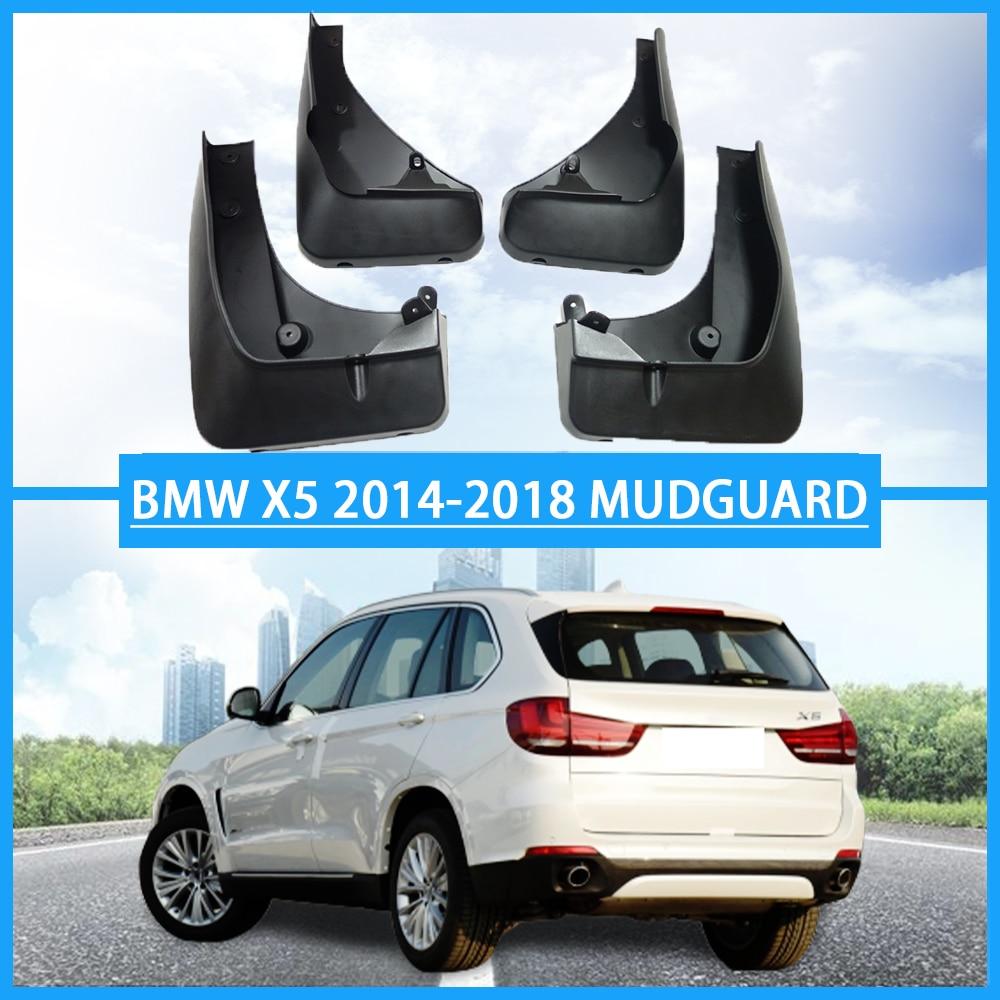 For BMW X5 2014-2018 Car Mud Flap Splash Guard Fender Mudguard Mudflap
