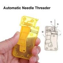 1pc agulha automática threader mão agulha de costura threader ponto inserção ferramenta de costura acessórios