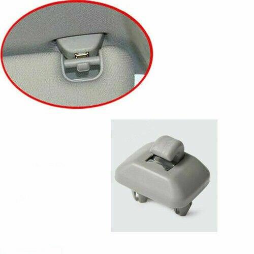 Grey Inner Sun Visor Hook Clip Soul Bracket For Audi AUDI A4L A3 A5 TT 8U085756 Buckle