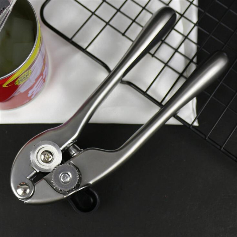Multi-function Can Opener Knife Scratch-proof Thick Zinc Alloy Safety Can Opener Tin Can Opener Kitchen Utensils