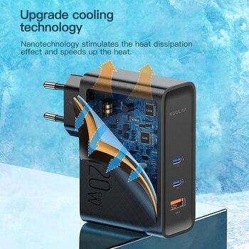 Устройство для быстрой зарядки KUULAA, 120 Вт, USB Type-C 5