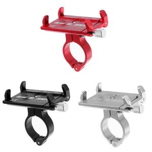 GUB G-81 Motorcycle Bicycle Handlebar Phone Holder Clip Stand Mount Bracket Cycling Handlebar Clamp Holder Bike Accessories