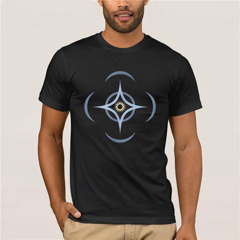 Round Neck Cool  Man's T Shirt   Brand Men Brandon Sanderson Cosmere Symbol 100% Cotton Summer Mens T Shirt