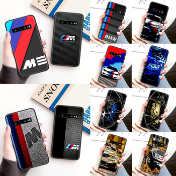 BMW M Luxury Car Phone Case For Samsung Galaxy Note S 8 9 10 20 Plus E Lite Uitra black Funda Silicone Back Trend Cell Pretty image