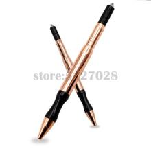 Микроблейдинг ручная ручка Профессиональный полуперманентный макияж принадлежности для тату-пистолета ручка набор ручных инструментов для тумана бровей подводка для глаз губ