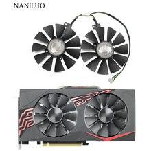 88mm FDC10U12S9-C EX-RX570 gtx 1060/1070 duplo gpu ventilador refrigerador para asus AREZ-EX-RX570-8G/4g placa gráfica de vídeo refrigerar