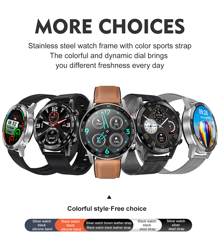 2021 ecg relógio inteligente bluetooth chamada smartwatch