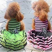 Pet ClothesPet Products Pet Skirt Wedding Dress Pet Wedding Dress Summer Clothes Teddy Small Dog Clothes  Dog Christmas Clothes