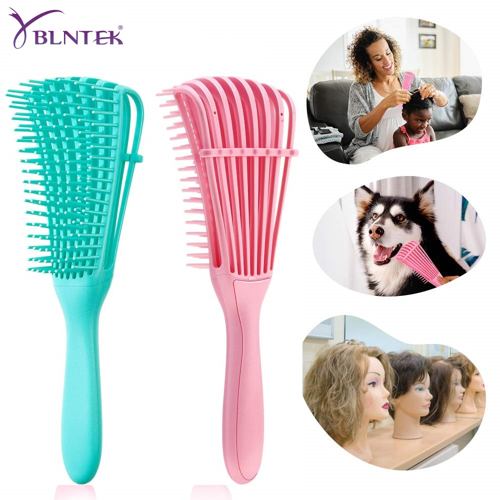 YBLNTEK Hair Brush Scalp Massage Comb Detangling Brush For Curly Hair Comb For Hair Detangler Hairbrush For Women Men Salon
