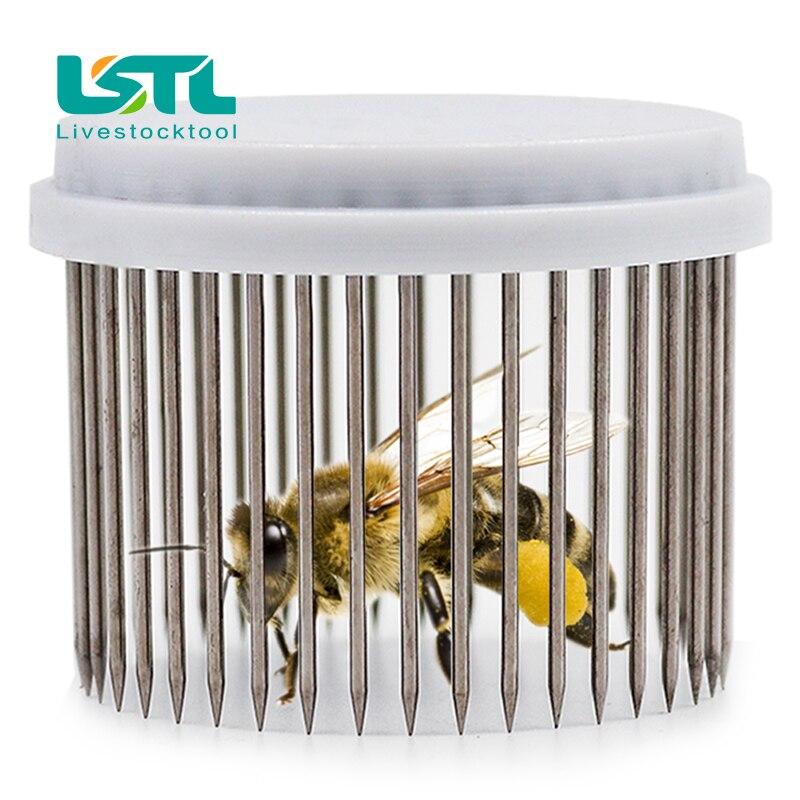 Beekeeping Queen Needle Type Bee Cage Steel Catching Catcher Equipment Tools New