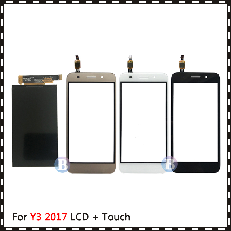 New High Quality 5.0'' For Huawei Y3 2017 CRO-L22 CRO-L02 CRO-L03 CRO-L23 CRO-U00 Lcd Display With Touch Screen Digitizer Sensor