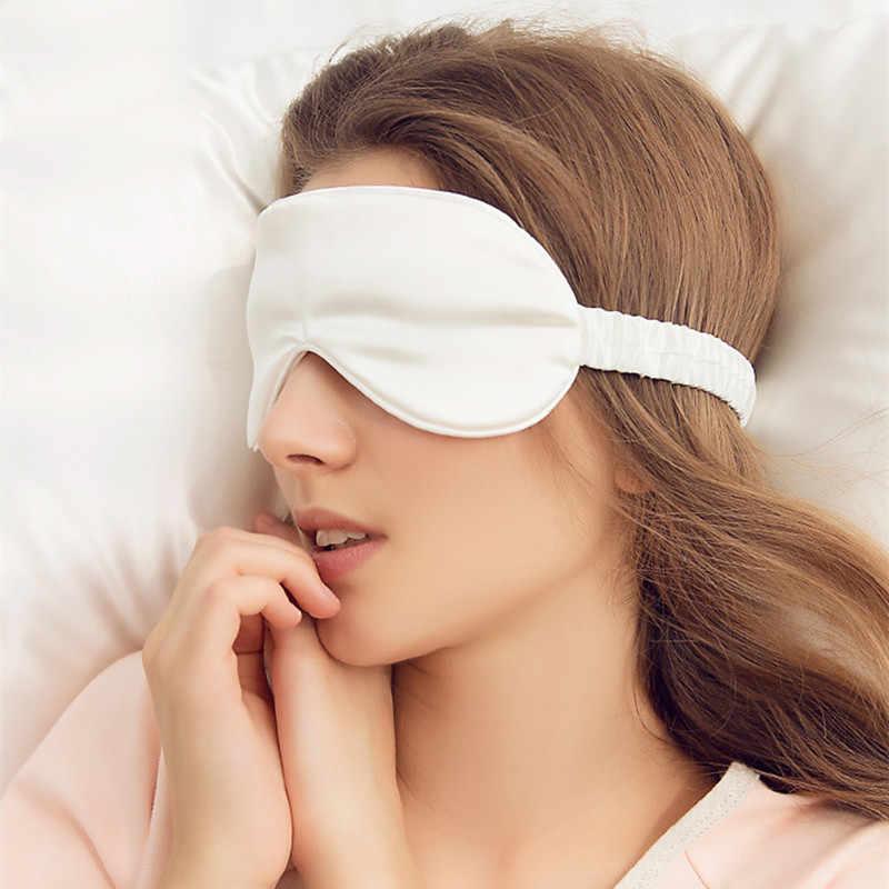 1 Máy Tính Mới Nguyên Chất Lụa Ngủ Còn Lại Mặt Nạ Mắt Đệm Bóng Bao Du Lịch Thư Giãn Viện Trợ Bịt Mắt Bịt Tai Mắt Dụng Cụ
