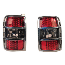 Geändert Auto LED Rücklicht Für Mitsubishi PAJERO V31 V32 1991 1992 1993 1994 1995 1996 1997 Bremslicht Blinker 2Pcs L R
