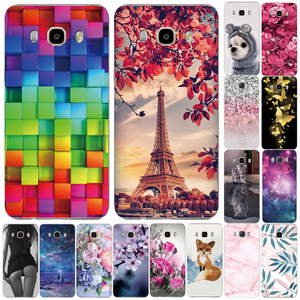 Soft Silicone TPU Case For Samsung Galaxy J3 J5 J7 J4 J6 2016 2017 2018 Back Case For Samsung J510 J530 J710 J730 Phone Cove