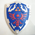 Zelda lenda cos link sky escudo 1:1 cosplay arma prop brinquedo