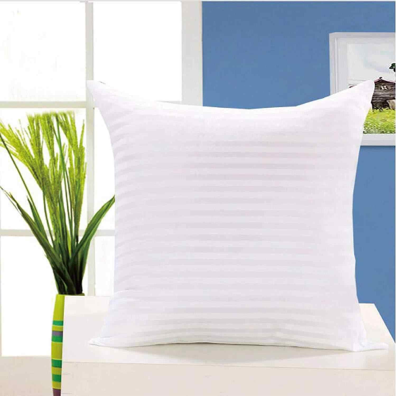 Blanc coussin insérer doux PP coton pour voiture canapé chaise décor jeter oreiller noyau intérieur siège coussin remplissage