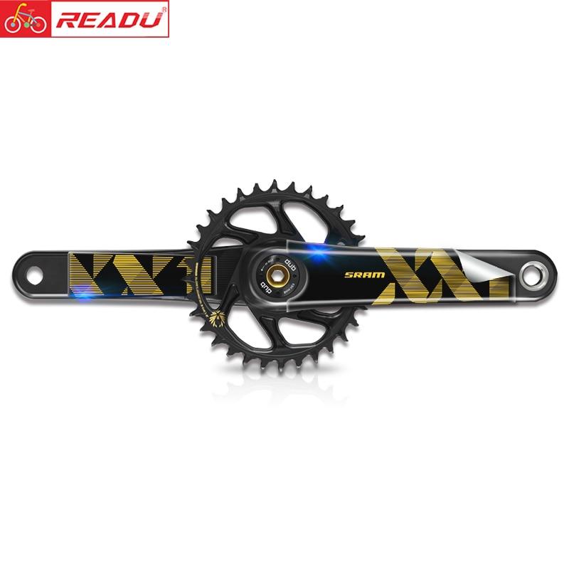 Mountain Bike XX1 EAGLE Crank Sticker AM DH Crank Decal
