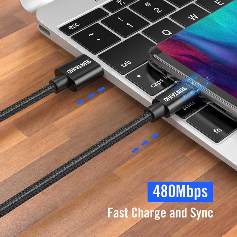 Suntaiho 2.4A USB кабель для iphone Кабель зарядного устройства XS max Xr X USB кабель для быстрой зарядки iPhone 8 7 6 5s Plus Зарядное устройство для телефона