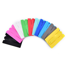 Popular U Shape Touch Universal Silicone Kickstand Holder Stand For Smart Phone Convenience card holder case