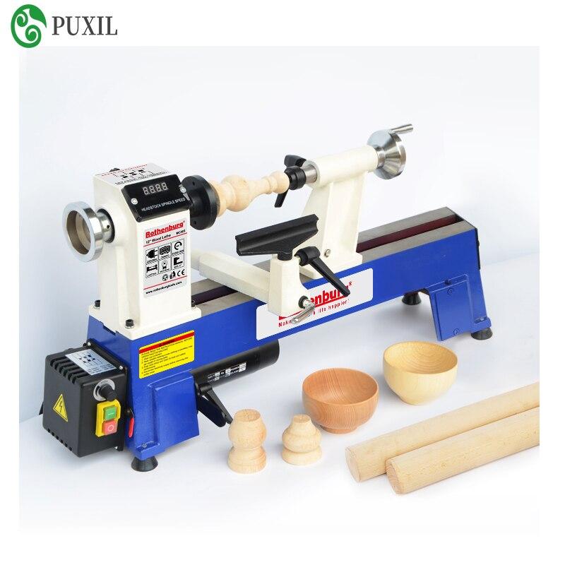 Holzbearbeitung drehmaschine miniatur haushalt multifunktions desktop holz spinning maschine kleine perlen maschine drehmaschine polieren maschine
