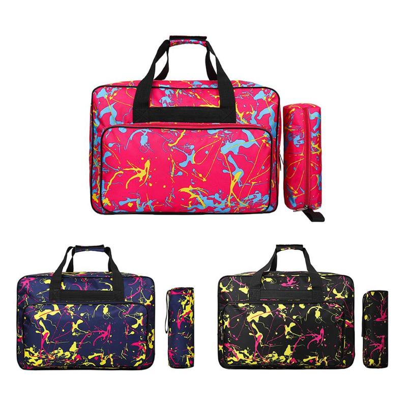 FashionTote Large Capacity Sewing Machine Bag Portable Storage Bag Multifunctional Sewing Tools Hand Bags Home Use Travel