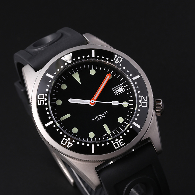 STEELDIVE  Shark Dive Watch 200m Mechanical Watch Men Wrist Automatic C3 Super Luminous 1979 Replica Automatic Watches Men