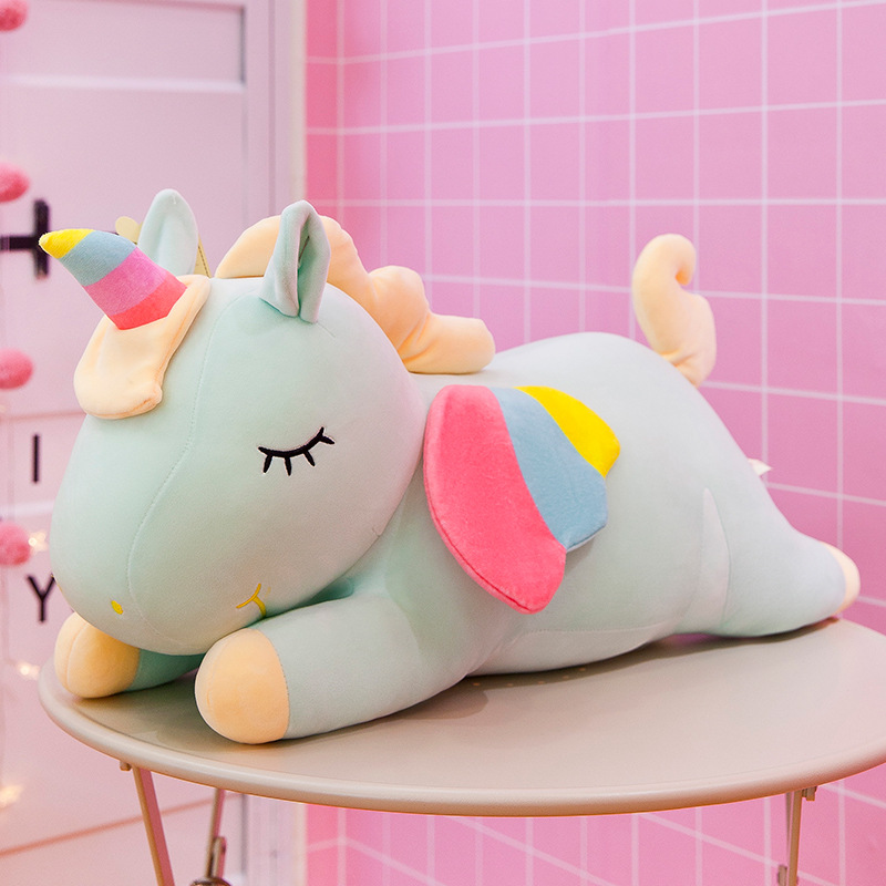 Unicorn Rainbow Plush  2