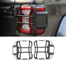 Taillight Cover Guard for Jeep Wrangler JL 2018 2019 2020 2021 Tail Light Decorative Sticker Trim Lamp Hoods Car Accessories ABS