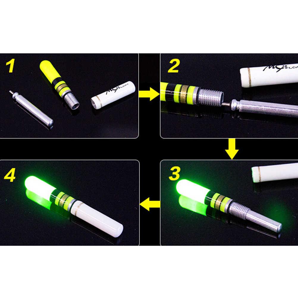 1 sztuk Fishing Float LED elektryczny Float światła wędkarskiego Luminous Float + CR322 baterii LED Float głębokiej wody noc sprzęt wędkarski