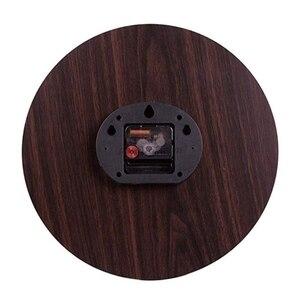 Image 2 - Reloj de pared de estilo francés Retro de 12 pulgadas, Número Romano, redondo, sin marco, silencioso, sin tictac, silencioso, Digital, Sw