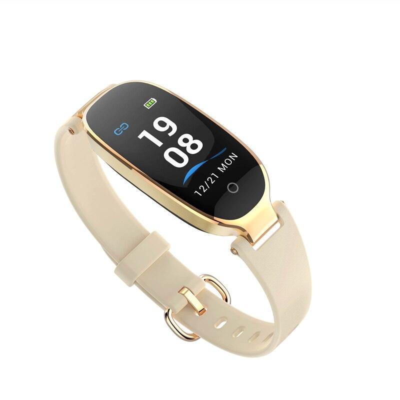 Fitness Tracker For Women AGPTEK IP68 Waterproof Smart Bracelet With Color Screen 16 Sport Mode Heart Rate Sleep Monitor