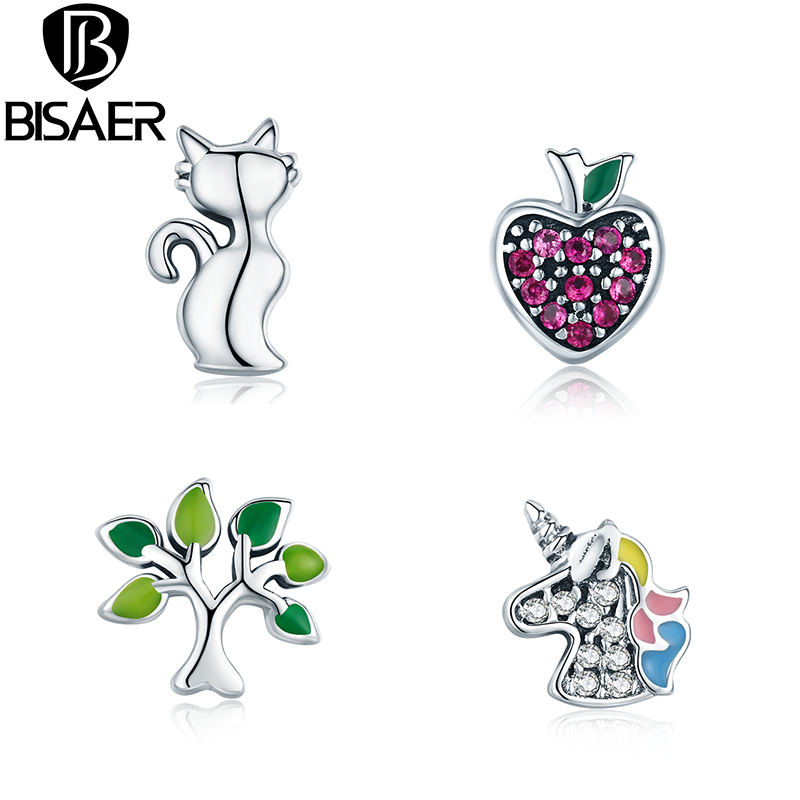 100% 925 Sterling Silver Vivid Animal Power Box Petite Memories Charms for Long Chain Necklace Floating Locket Necklace Jewelry