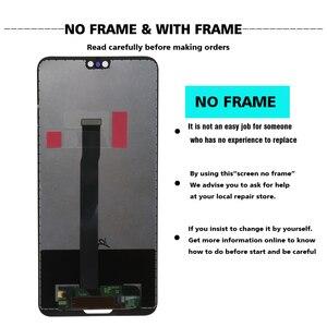 Image 2 - 100% Originele LCD Met Frame Voor Huawei P20 EML L09 EML L22 EML L29 EML AL00 Lcd Touch Screen Digitizer Vergadering Vervangen