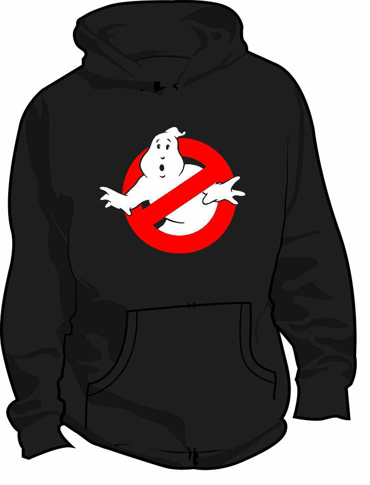 Ghostbusters logo 1980s retro movie all sizes and colors women men clothes coat hoodie image