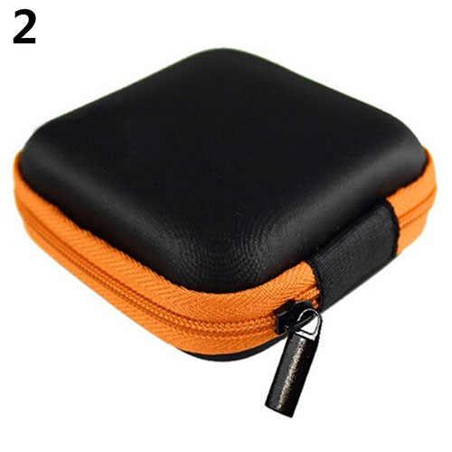 Vierkante Hdd Zak Externe Usb Harde Schijf Schijf Pouchs Oortelefoon Tas Carry Usb Kabel Case Cover Voor Ssd Hdd Harde disk Case Коробка