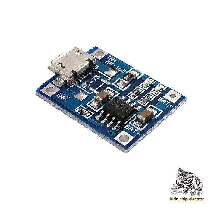 10 PCS/LOTP40561A Lithium Battery Special Charging Board Charging Module MICRO Interface For Electrical Impulses Mike USB