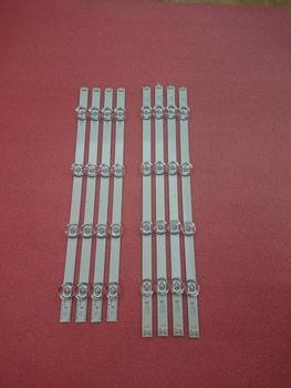 New 5set=40 PCS LED Backligh strip For LG TV 42LY320C INNOTEK DRT3.0 DRT 3.0 42 inch 42LB5610 42GB6310 6916L-1956E 1957E 1709A 825mm led strip 8 leds for lg innotek drt 3 0 42 a b type 42lb5610 42lb5510 42ly320c 42gb6310 42lb552v tv lcd replacement 4sets