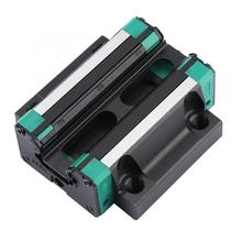 HG30 Bearing Steel Linear Rail Carriage Rail Block Slider Linear Motion Block (Flange) tbr16 linear guide rail 1pc tbr16 300mm linear rail 2pcs tbr16uu flange linear slide block