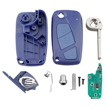Auto Smart Remote Key 3 Knoppen Fit Voor Fiat 500 Panda Idee Punto Stilo 433 Mhz PCF7946(China)