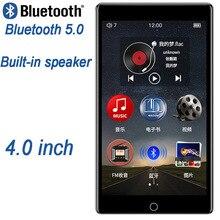 RUIZU H1 4 дюйма Сенсорный экран Bluetooth5.0 MP4 плеер с Встроенный динамик Поддержка FM радио Запись видео электронная книга MP3 плеер