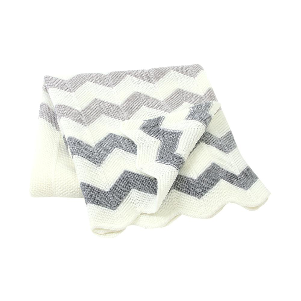 Baby Blankets Knitted 100*75cm Newborn Bebes Swaddle Wrap Towels Super Soft Infant Kids Stroller Bed Sofa Sleeping Cover Blanket