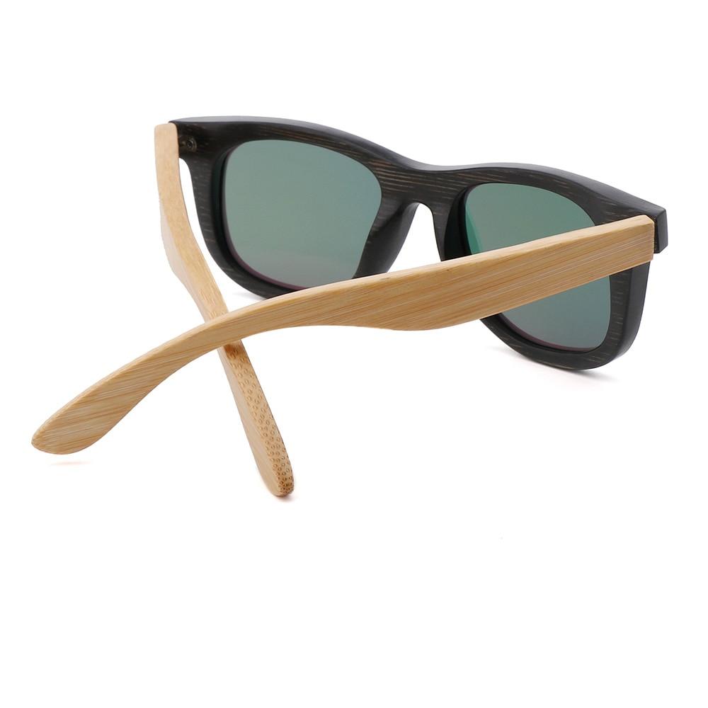 BerWer çocuk Ahşap Güneş Gözlüğü Polarize Bambu marka güneş - Elbise aksesuarları - Fotoğraf 5